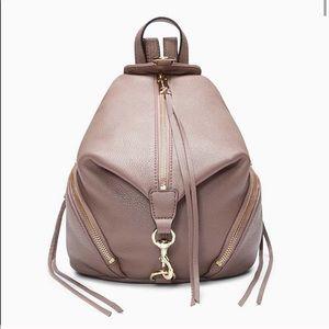 NWT Rebecca Minkoff Medium Julian Backpack in Mink